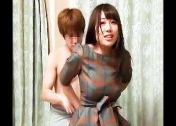 〖おっぱいたまんねぇっ!!〗お持ち帰りした女子大生の着衣爆乳にチンポの興奮が収まらねぇ!!