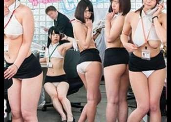 ★SOD女子社員★いくらなんでもやりすぎでしょ( ̄▽ ̄;)そんな格好で業務に当たられたら仕事にならぬ( ̄▽ ̄;)