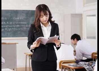 【三上悠亜】元AKBアイドルが不良たちに廻され肉便器女教師になってしまった