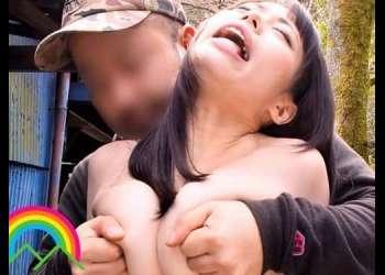 【川菜美鈴を野外で♥】媚薬漬けにした巨乳妻が露出SEXの異常快感に嵌ってしまい肉体が調教を求めた!
