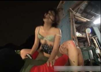 【閲覧注意】叫び声は誰にも聞こえない…街中で突然拉致された女子高生が山奥の廃工場でボロクソ輪姦