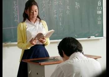 マジメな国語教師(人妻)が巨根の用務員に犯されて快楽堕ちするまで…松下紗栄子