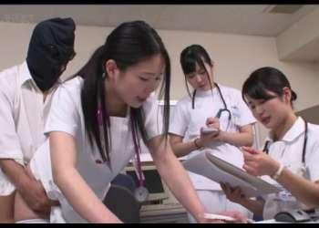 目の前で同僚がハメられてても気にしない病院!「常に性交」ナース