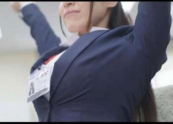 爆乳IカップなのにSODに入社してしまった新人女子社員さん 、抵抗する間もなくAVデビューさせられるww
