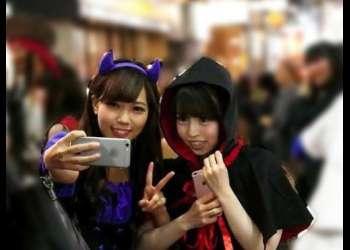 【素人ナンパ】『お金払うので友達同士でレズSEXしてくれませんか?』渋谷で見つけたノンケ女子大生2人組にガチ交渉ww